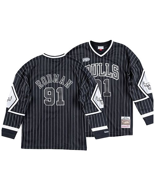 4b74a49ffe7 ... Mitchell   Ness Men s Dennis Rodman Chicago Bulls Concord Collection  Jersey ...