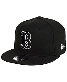 UCLA Bruins Black White Fashion 9FIFTY Snapback Cap