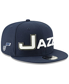 New Era Utah Jazz Enamel Script 9FIFTY Snapback Cap