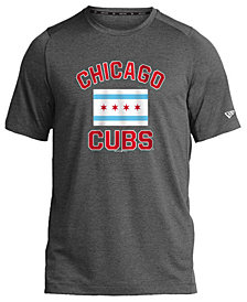 New Era Chicago Cubs Flag Performance T-Shirt, Big Boys (8-20)
