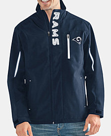 G-III Sports Men's Los Angeles Rams Energy Player Front Zip Jacket