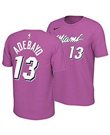 Nike Men's Bam Adebayo Miami Heat Earned Edition Player T-Shirt