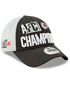 New Era Kansas City Chiefs 2018 Division Champ 9FORTY Cap