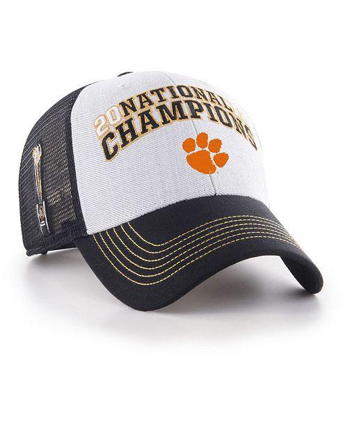 online retailer cb91e b80c7 ...  47 Brand Clemson Tigers 2019 College Football Playoff Champ MVP  Snapback Cap    ...