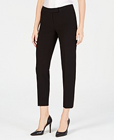 Bi-Stretch Slim Straight-Leg Dress Pants, Created for Macy's
