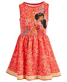 Toddler Girls Floral-Print Elena Dress