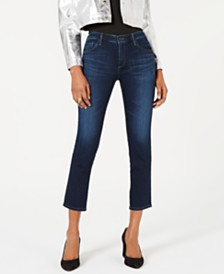 AG Jeans Prima Cropped Mid-Rise Jeans