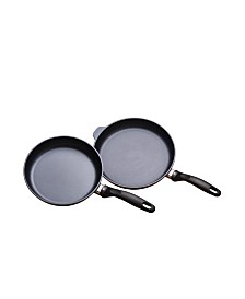 "Swiss Diamond HD 2 Piece Set: Fry Pan Duo - 9.5"" and 11"""