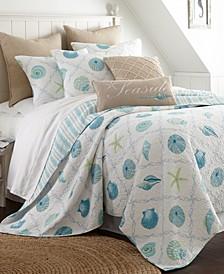 Home Marine Dream Seaglass Full/Queen Quilt Set