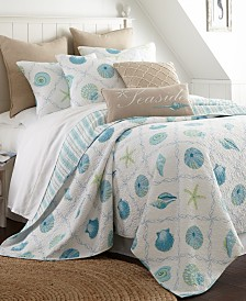 Levtex Home Marine Dream Seaglass Full/Queen Quilt Set