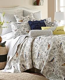 Home Mockingbird Twin Quilt Set