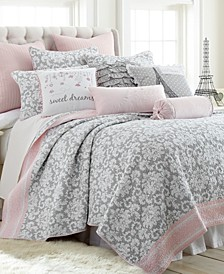 Home Margaux Full/Queen Quilt Set