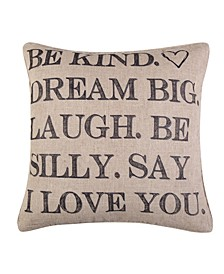Home Santa Fe Be Kind Pillow