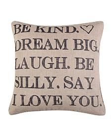 Levtex Home Santa Fe Be Kind Pillow