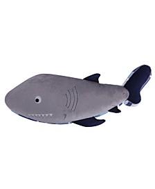 Home Sammy Shark Shaped Pillow