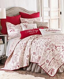 Home Noelle Full/Queen Quilt Set