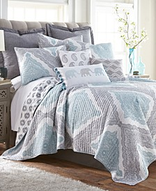 Home Montclair Full/Queen Quilt Set