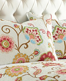 Home Ashbury Embroidered Paisley Pillow