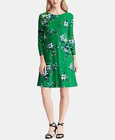 Lauren Ralph Lauren Floral-Print Dress, Created for Macy's