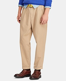 Polo Ralph Lauren Men's Relaxed-Fit Pleated Chino Pants