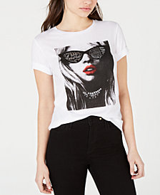 GUESS Graphic Rhinestone-Embellished T-Shirt