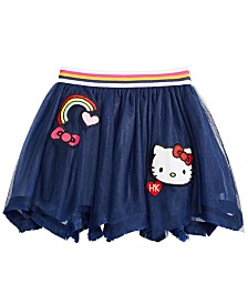 Hello Kitty Toddler Girls Mesh Skirt