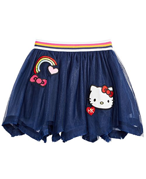 Hello Kitty Little Girls Rainbow Skirt