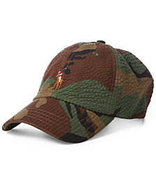 Polo Ralph Lauren Men's Seersucker Camo Cap