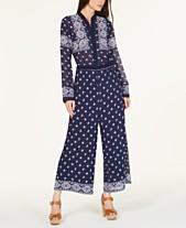 3c5b158cd80 MICHAEL Michael Kors Scarf-Print Jumpsuit