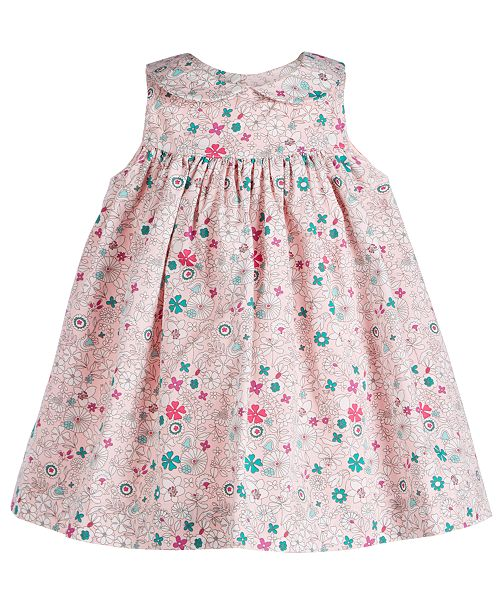 First Impressions Baby Girls Floral-Print Dress, Created for Macy's