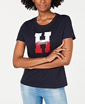 bc15ac8d6150fa Tommy Hilfiger Cotton H-Logo T-Shirt