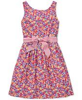 0f0de8413f7 Polo Ralph Lauren Big Girls Floral-Print Fit   Flare Dress. Quickview. 2  colors