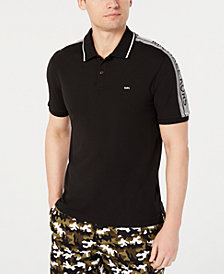 Michael Kors Men's Performance Stretch Logo Polo