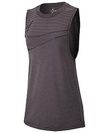 Nike Dry Striped Tank Top