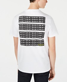 DKNY Men's Blocks Logo Graphic T-Shirt