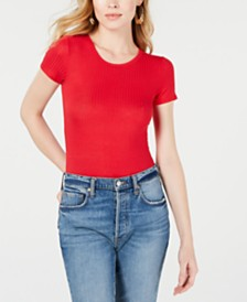 Free People Baby Ribbed Tee
