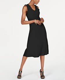 MICHAEL Michael Kors Ribbed-Knit Dress