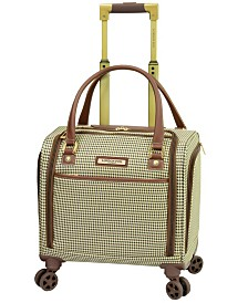 "London Fog Oxford II Softside 15"" Under-Seater Bag Luggage, Created for Macy's"