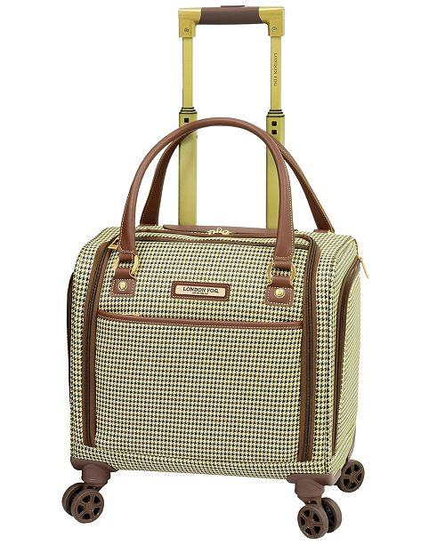 "London Fog Oxford II Softside 15"" Under-Seater Bag Luggage"
