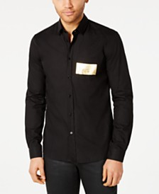 Versace Men's Logo Graphic Shirt