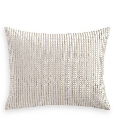 """Hotel Collection Luxe Border 16"""" x 20"""" Decorative Pillow, Created for Macy's"""