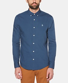 Original Penguin Men's Core Performance Stretch Poplin Shirt
