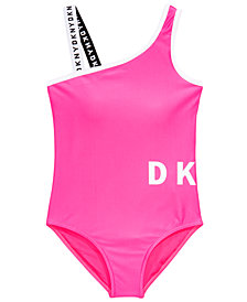 DKNY Big Girls 1-Pc. Sunsuit Swimsuit