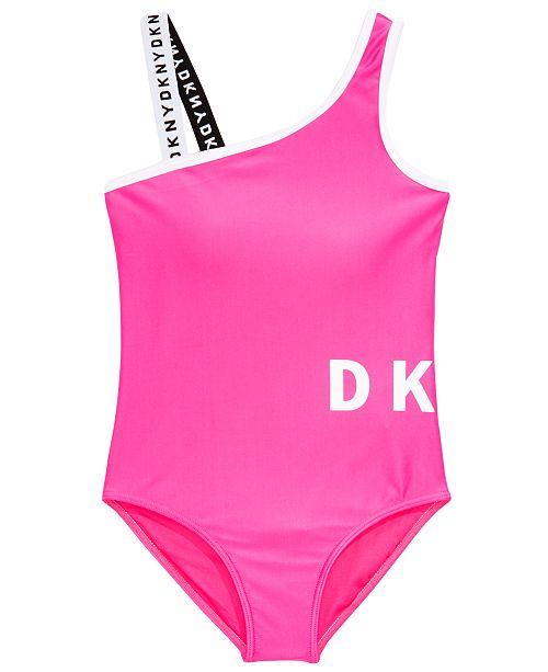 DKNY Big Girls 1-Pc. Sunsuit Swimsuit
