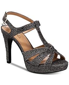 Thalia Sodi Verrda2 Embellished Platform Dress Sandals, Created for Macy's