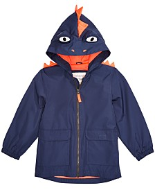 Carter's Toddler Boys Hooded Monster Rain Jacket