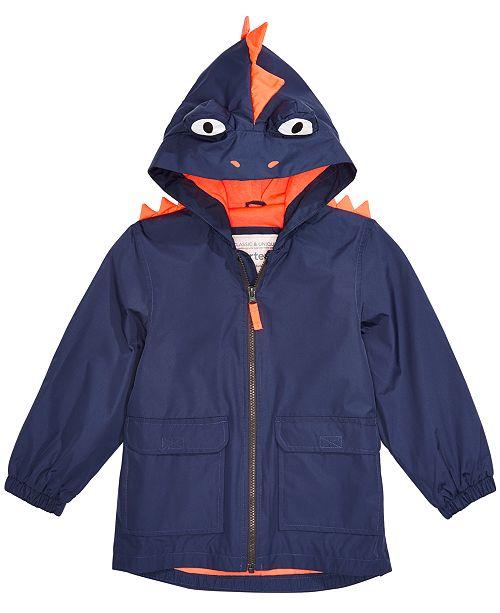 e012a49c Carter's Toddler Boys Hooded Monster Rain Jacket & Reviews - Coats ...