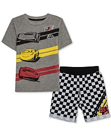 Disney Little Boys T-Shirt & Shorts Set