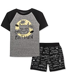 DC Comics Little Boys T-Shirt & Shorts Set