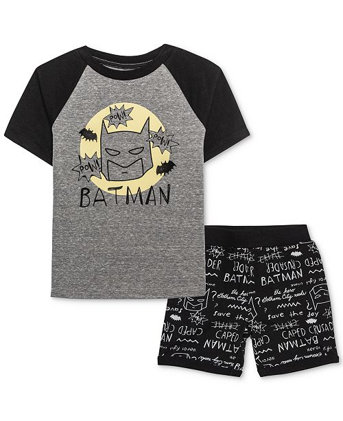 DC Comics Little Boys T-Shirt & Shorts Set